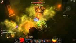Diablo 3 - Whirlwind Barbarian vs Ghom (Inferno)