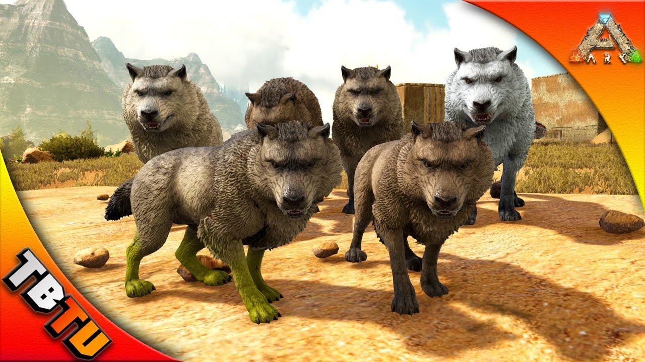 dire wolf mutation direwolf taming breeding ark scorched earth