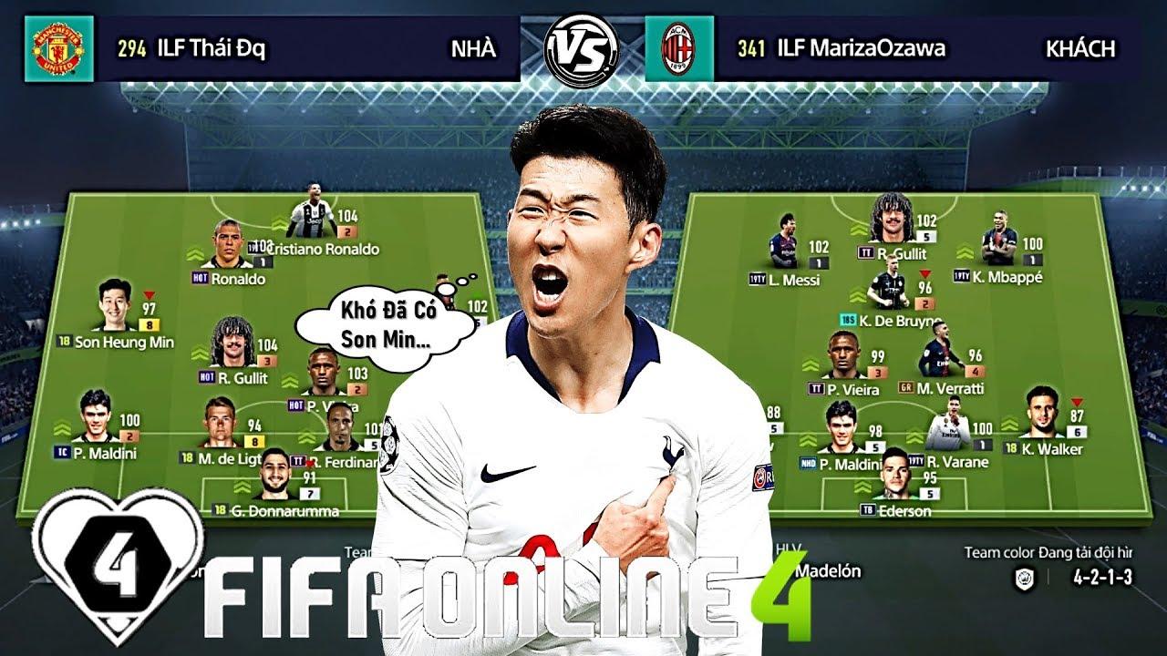 FIFA ONLINE 4 | BÁN KẾT I LOVE FIFA MỞ RỘNG | Thái ĐQ Vs Khôi Trề: Pha Kết Liễu Của SON MIN +8