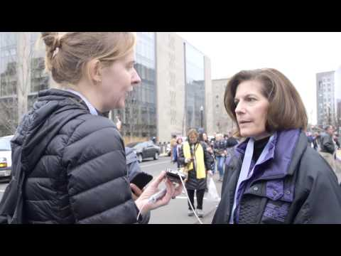 Freshman Senator Catherine Cortez Masto on DC Protesters.