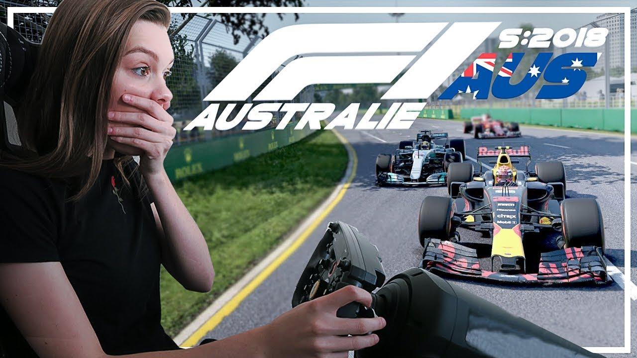 MAX VERSTAPPEN VS HAMILTON! #AusGP F1 AUSTRALIË 2018! (Formule 1: S2018)
