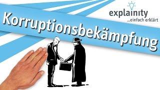 Korruptionsbekämpfung einfach erklärt (explainity® Erklärvideo)