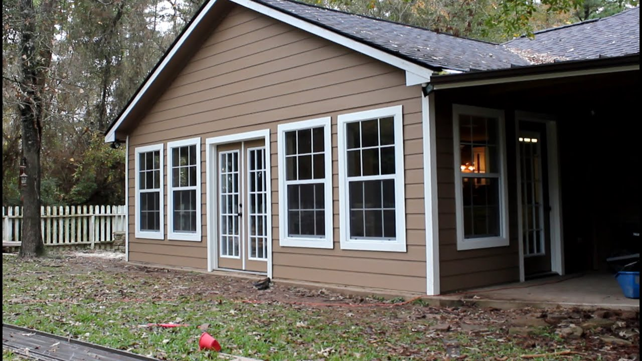Porch Enclosure Long Version