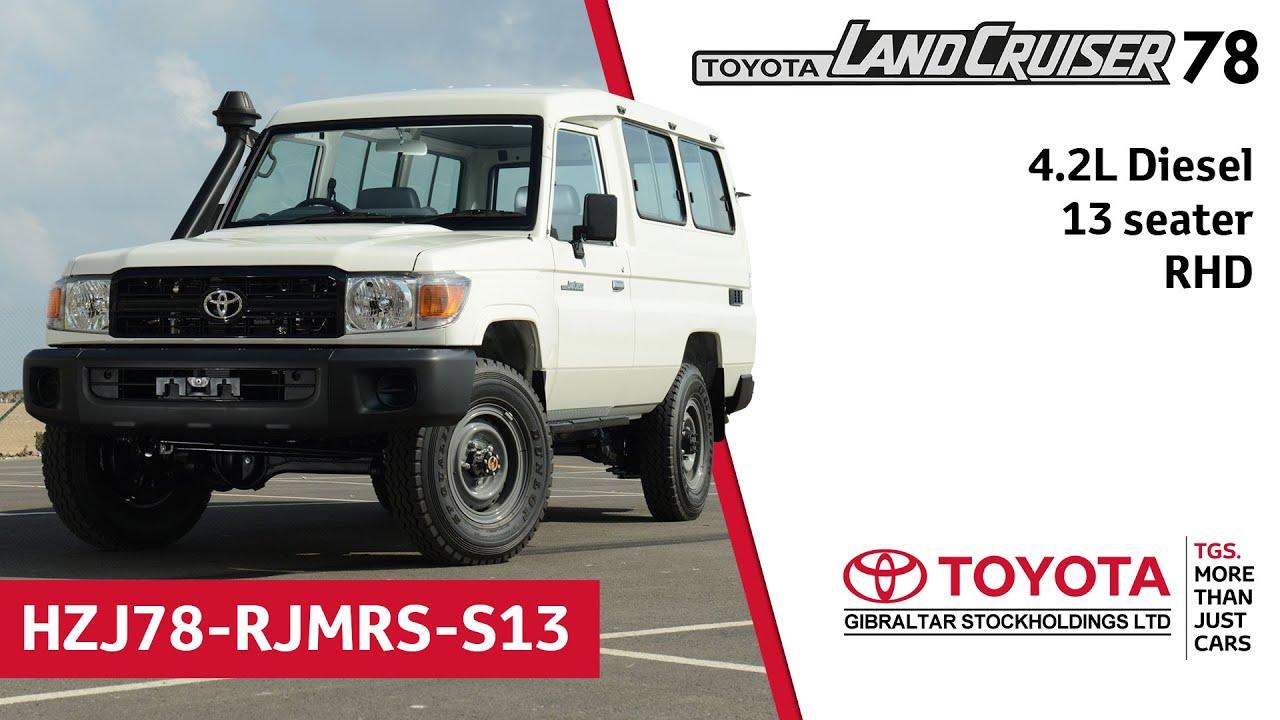 Toyota Land Cruiser Hardtop 78 42 Diesel 13 Seater