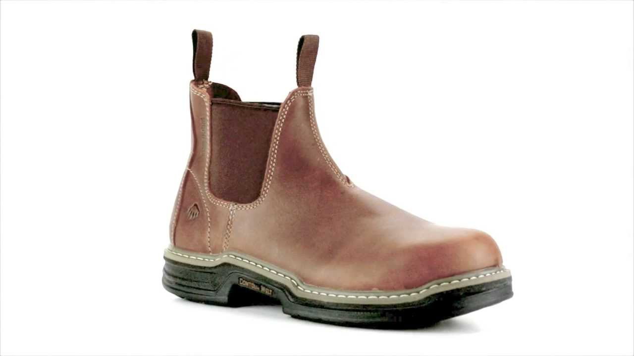 Slip On Steel Toe Work Boots - Cr Boot