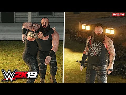 WWE 2K19 Exclusive - Braun Strowman vs Bray Wyatt - Wyatt Compound Match!!