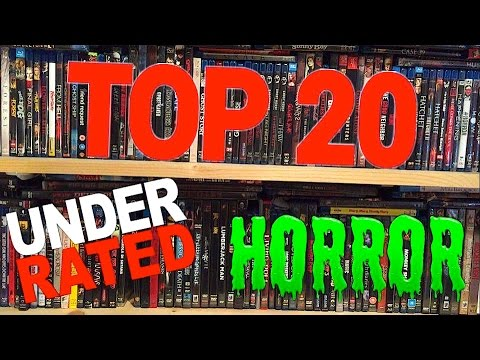 What are the 15 best and underrated horror movies available on Youtube for free?