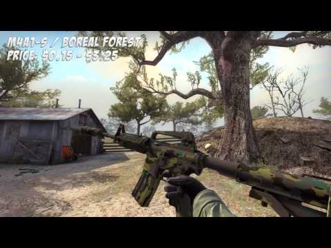 CS:GO-The Military Camo Loadout