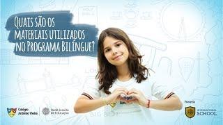 Programa Bilíngue no Vieira - EP 02: Quais materiais são utilizados no Programa Bilíngue?