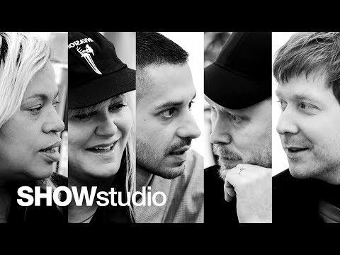 Raf Simons - Autumn / Winter 2018 Panel Discussion
