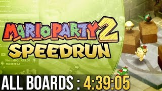 Mario Party 2 All Boards (Normal) Speedrun in 4:39:05