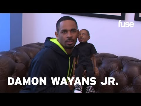 Damon Wayans Jr. Meets His Puppet  The Hollywood Puppet Shit