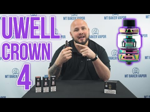 Uwell Crown 4 Tank [Vape Review] | The BEST Sub Ohm tank?