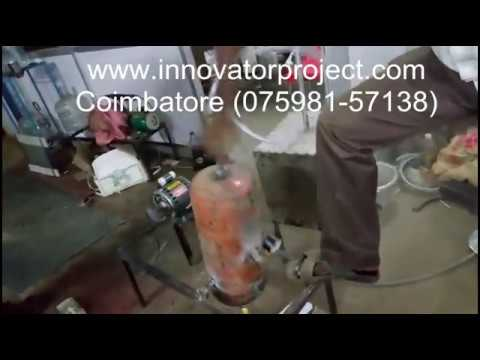 Abrasive jet machine / welding slag cleaning machine / final year project center in coimbatore