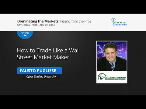 How to Trade Like a Wall Street Market Maker | Fausto Pugliese