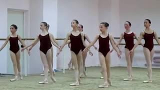 Харьковская балетная школа. Фрагмент урока