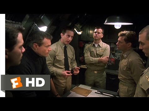 U571 3/11 Movie   Mission Briefing in Submarine 2000 HD