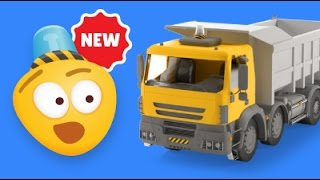Kid's 3D Construction Cartoon : Build a Dump Truck I Learning Construction Vehicles for Kids