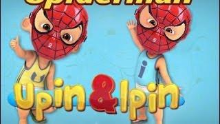 Upin & Ipin berubah menjadi spiderman