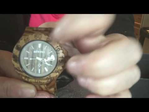 PRODUCT REVIEW:  Wood Wrist Watch