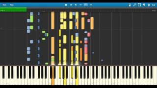 Jackson 5  Never Can Say Goodbye   Midi Piano Synthesia