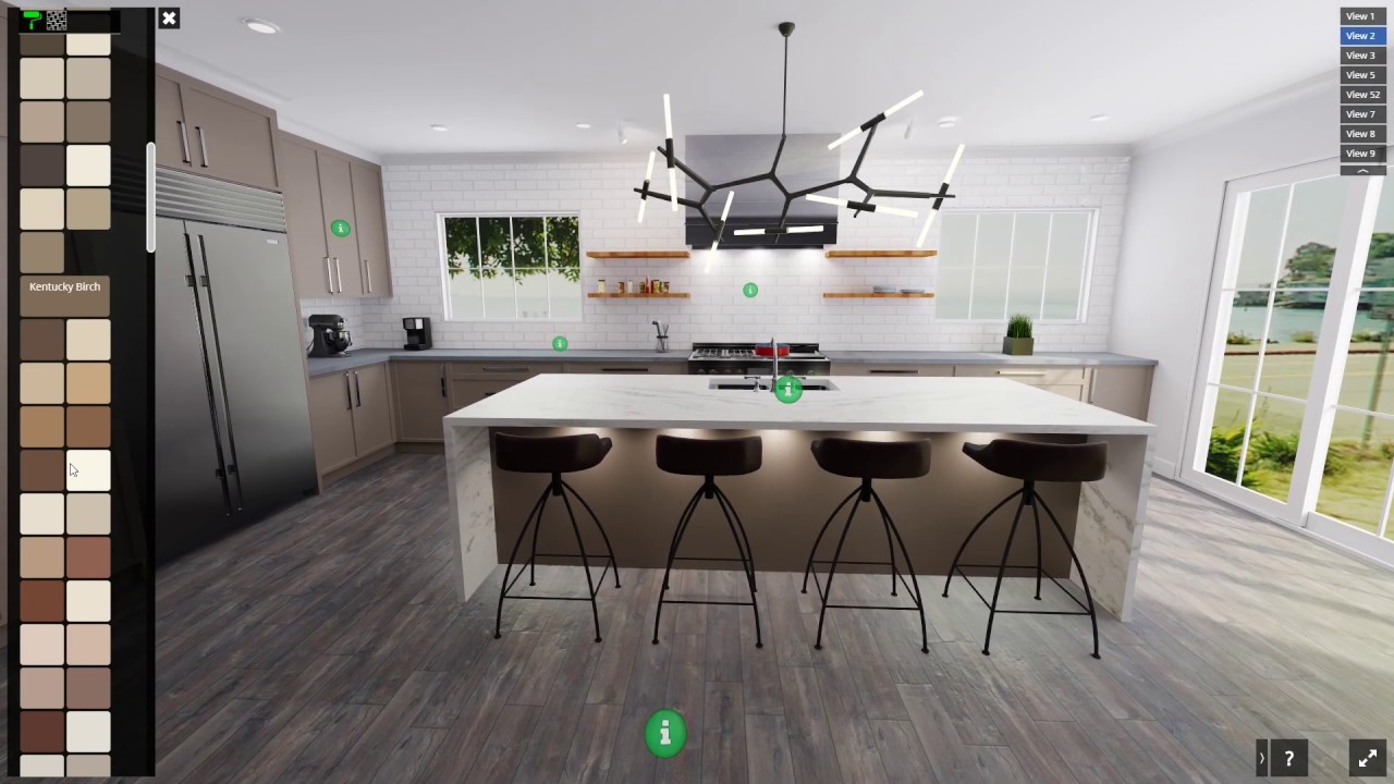 Kitchen And Bathroom Visualizer By