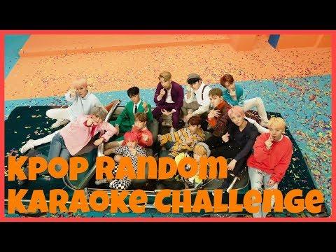 KPOP RANDOM KARAOKE CHALLENGE #9 [SEVENTEEN VER]