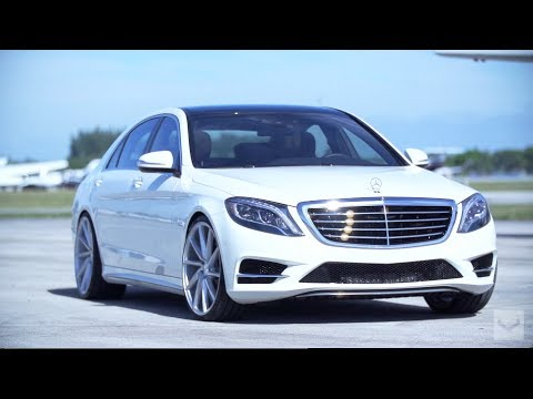 2014 Mercedes Benz S550 On 22 Vossen Cvt Executive Package W222