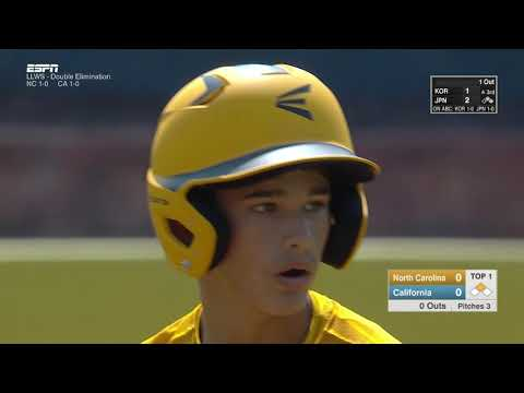 LLWS17 - Game 16 - Greenville N. Carolina vs  Rancho Santa Margarita California - #ilovewilliamsport