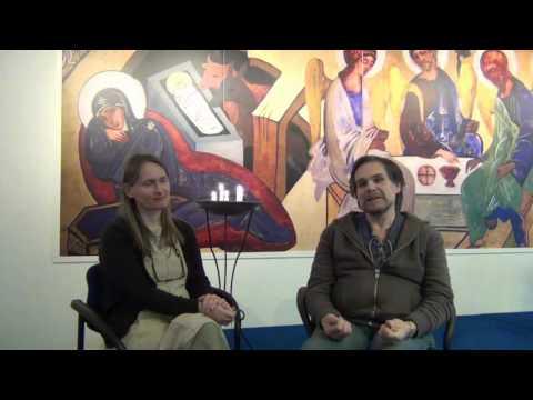 Dorota och Mats Wickenberg presenterar Mariansk andlighet enligt Monfort