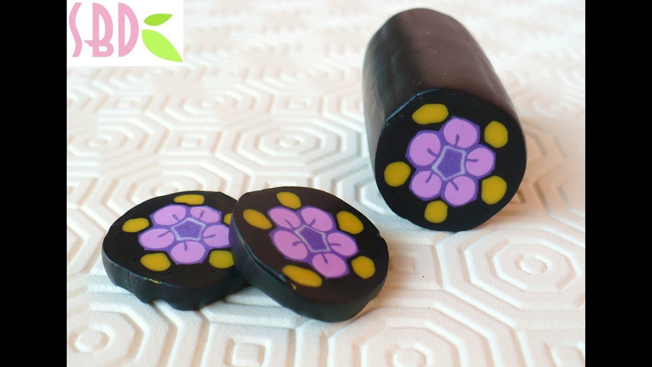fimo tutorial cane millefiori geisha youtube. Black Bedroom Furniture Sets. Home Design Ideas