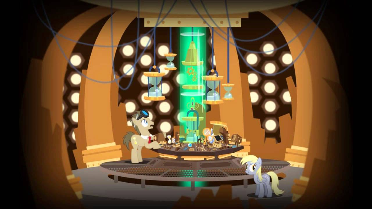 Steampunk Derpy And Doctor Whooves Youtube