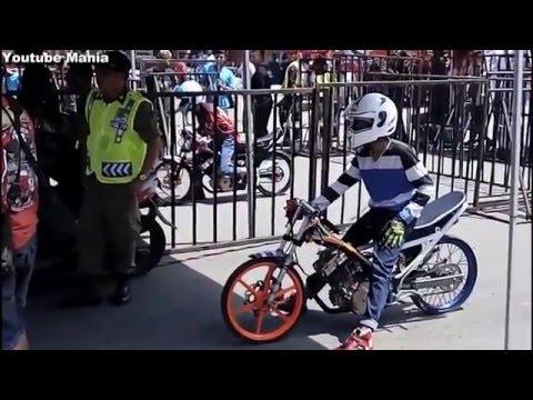 Drag Bike AHRS FU STD 155 LOKAL KARESIDENAN Boyolali 10 April 2016 HD