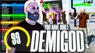 the most BROKEN DEMIGOD BUILD on NEXT GEN NBA 2K21... GMAN REVEALS BEST GUARD BUILD