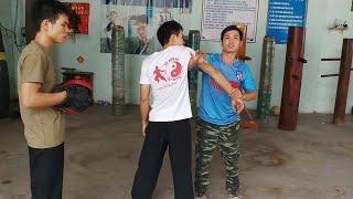 Toankungfu hướng dẫn nắn chỉnh khớp vai khi bị trật khớp