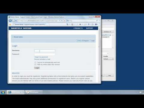 Automatically log into websites