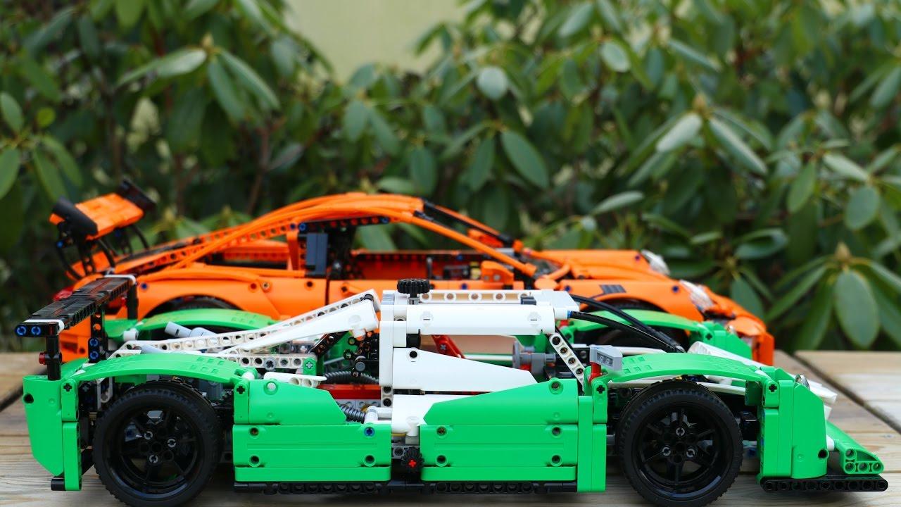 Lego Technic Challenge 42039 Vs 42056 Youtube