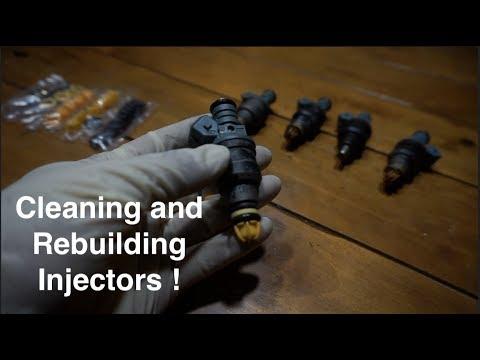 Bmw E30 Fuel Injector Vacuum Leak pt 2 Clean and Rebuild Injectors !