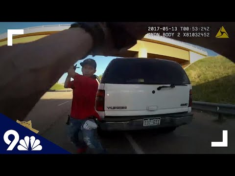 RAW: Deputy's split-second shooting caught on bodycam video