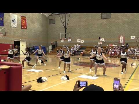 Camp Pendleton Falcon Cheerleaders