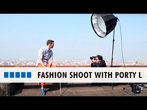 Hensel Porty L // Fashion Shoot With Mike Meyer // Making Of