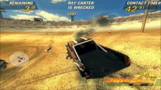 Flatout 2 derby gameplay