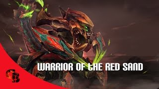Dota 2: Store - Sand King - Warrior Of The Red Sand