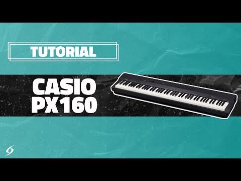 Casio PX160 - Tutorial 01 - Sonidos