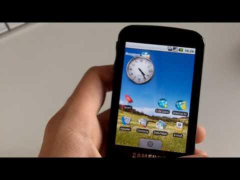 Test : Samsung Galaxy ( GT-I7500 )