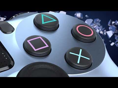 New PlayStation 4 DualShock 4 Wireless Controller - Titanium - Video