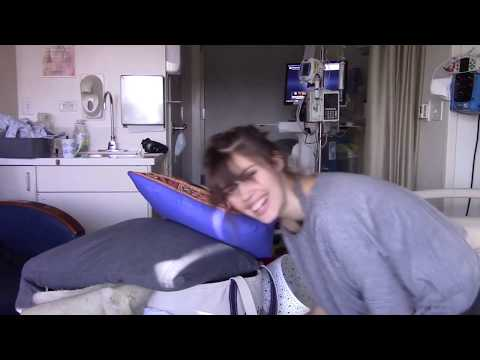 Hospital Room Makeover Start to Fin ~ Claire Wineland