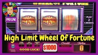 💥High Limit Wheel Of Fortune-Cosmopolitan Las Vegas💥