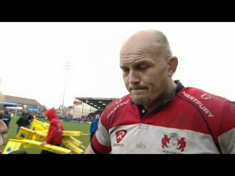 Gloucester v Bath: Will James post-match interview