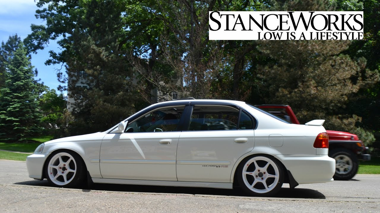 Civic Ferio Vi-RS Stance Works - Low is a Lifestyle. - YouTube